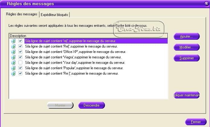 comment bloquer les mails ind?sirables sur free
